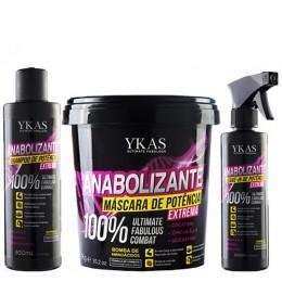 Комплект YKAS Anabolizante Capilar 300ml/950g/250ml