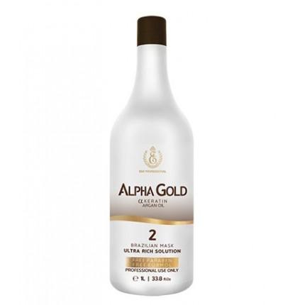 Кератин для волос Alpha Gold, 1000 мл