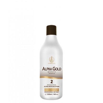 Кератин для волос Alpha Gold, 500 мл